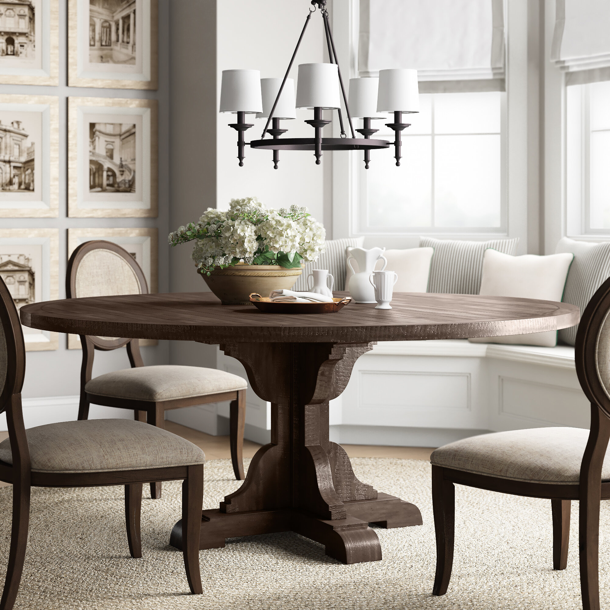 Fircrest Solid Wood Dining Table
