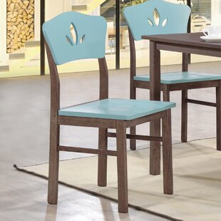 June Solid Wood Dining Chair (Set of 4)