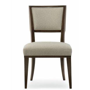Modern Streamline Side Chair Set of 2 by Caracole Modern