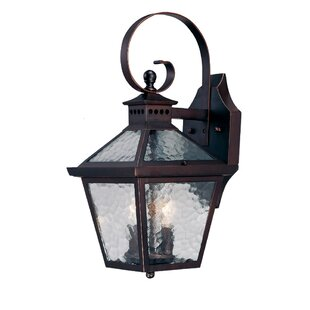 Darby Home Co Britton 2-Light Outdoor Wall Lantern