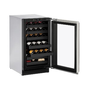 18 Bottle 3000 Series Single Zone Built-in Wine Cellar by U-Line