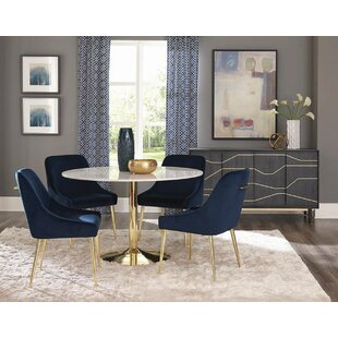 Walpole 6 Piece Dining Set Everly Quinn