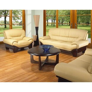 Guide to buy Clauderson Leather 3 Piece Living Room Set by Red Barrel Studio Reviews (2019) & Buyer's Guide