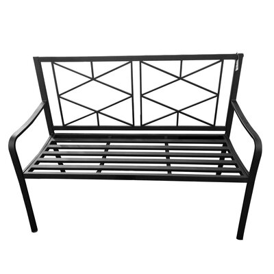 Black Metal Outdoor Benches You Ll Love In 2019 Wayfair