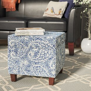 Harbison Mid Storage Ottoman by Three Posts