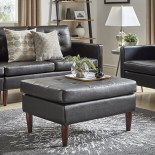 Crain Tufted Ottoman by Williston Forge