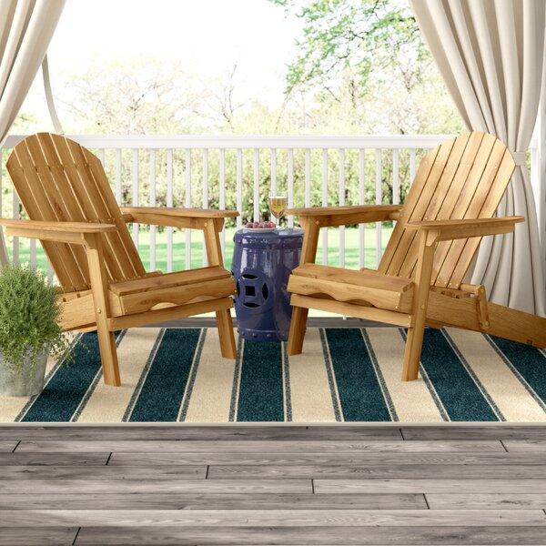 Three Posts Boone Wood Folding Adirondack Chair U0026 Reviews | Wayfair