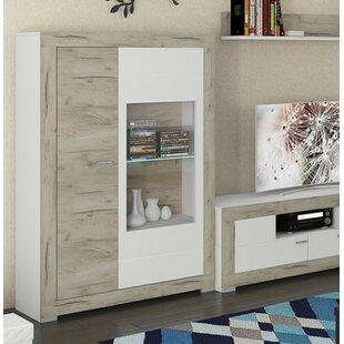 Garzon 2 Door Curio Cabinet by Brayden Studio