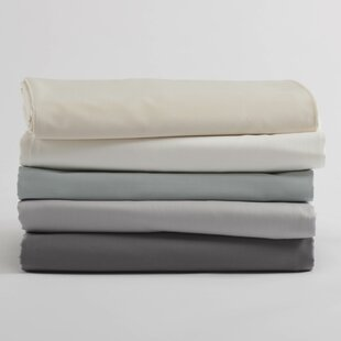 Sateen 300 Thread Count Solid Color 100% Cotton Sheet Set