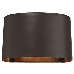 Affordable Krupp 1-Light Outdoor Flush Mount By Brayden Studio