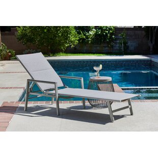 Peterkin Sling Patio Chaise Lounge