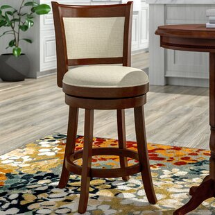 Bellefontaine 25.5 Swivel Bar Stool