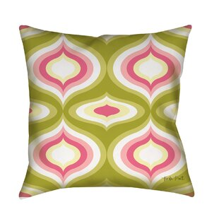 Britney Geo Printed Throw Pillow