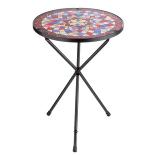 Emiko End Table By World Menagerie