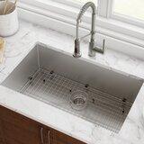"Standart PRO™ 32"" L x 19"" W Undermount Kitchen Sink with Drain Assembly"