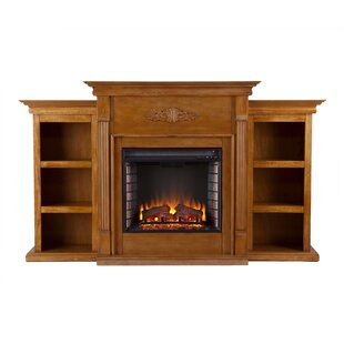 Light Oak Electric Fireplace Wayfair