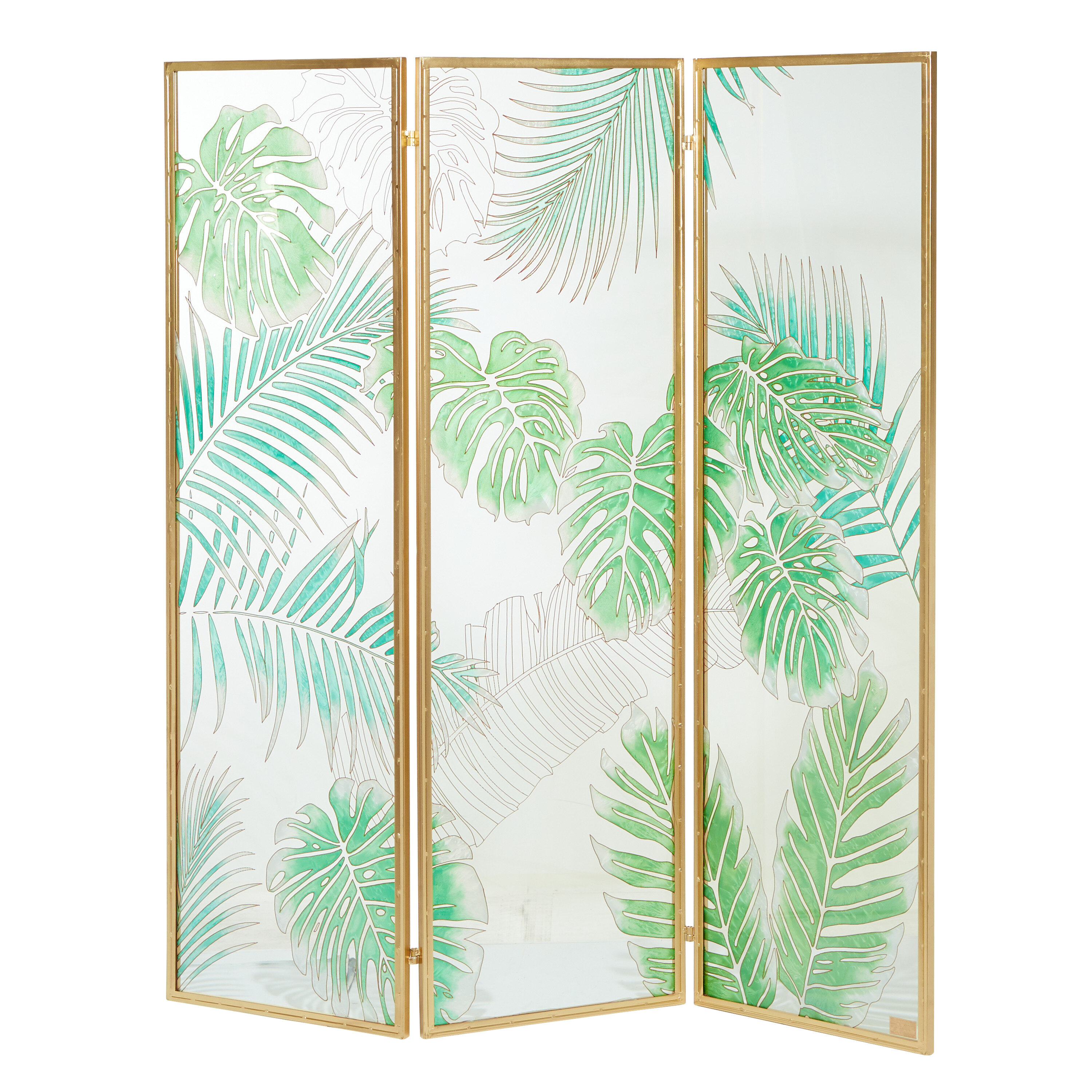 Bayou Breeze Anacortes 61 5 W X 72 5 H 3 Panel Solid Wood Folding Room Divider Wayfair