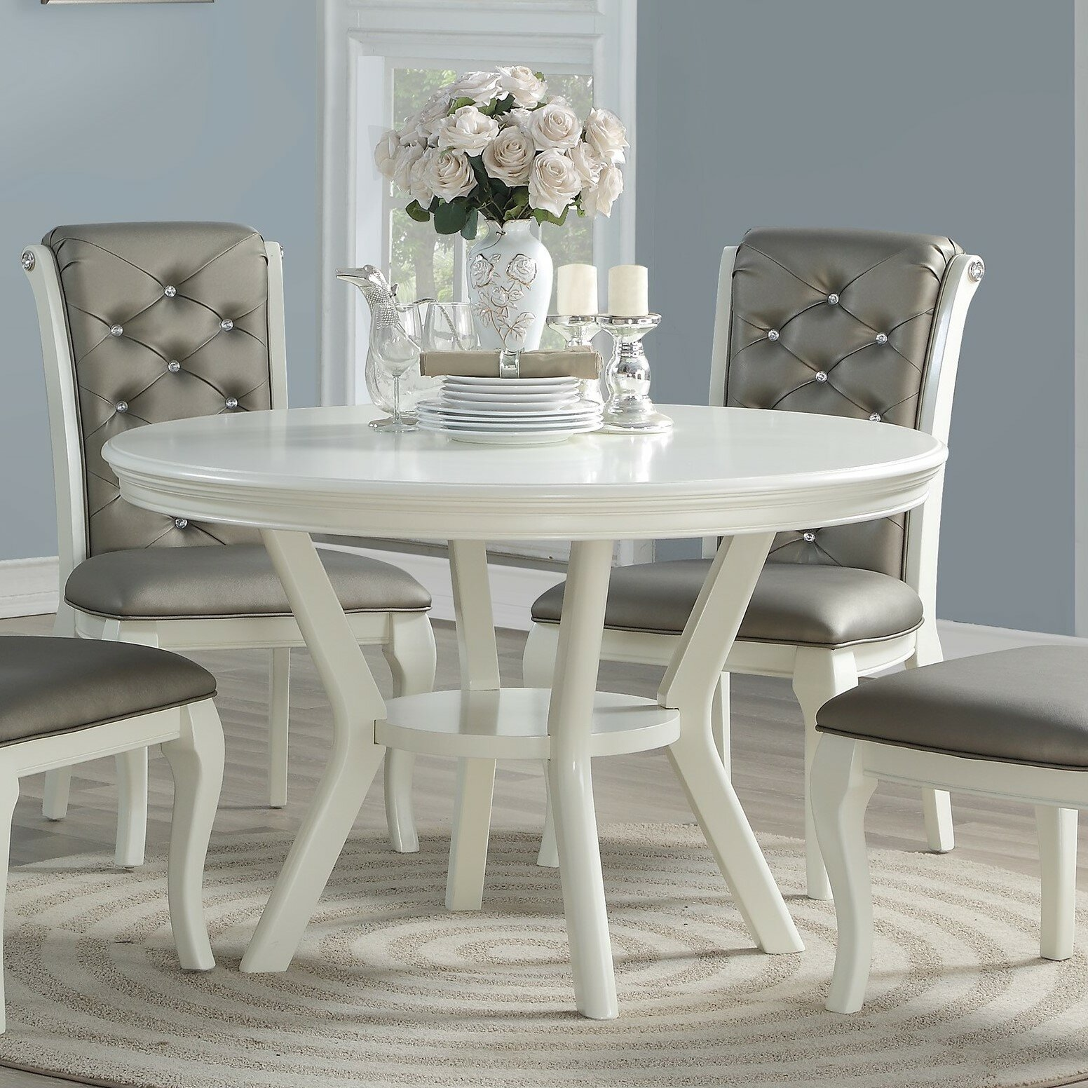 Toulouse 9   Person Dining Set