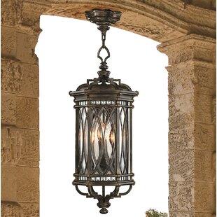 Fine Art Lamps Warwickshire 4-Light Outdoor Hanging Lantern