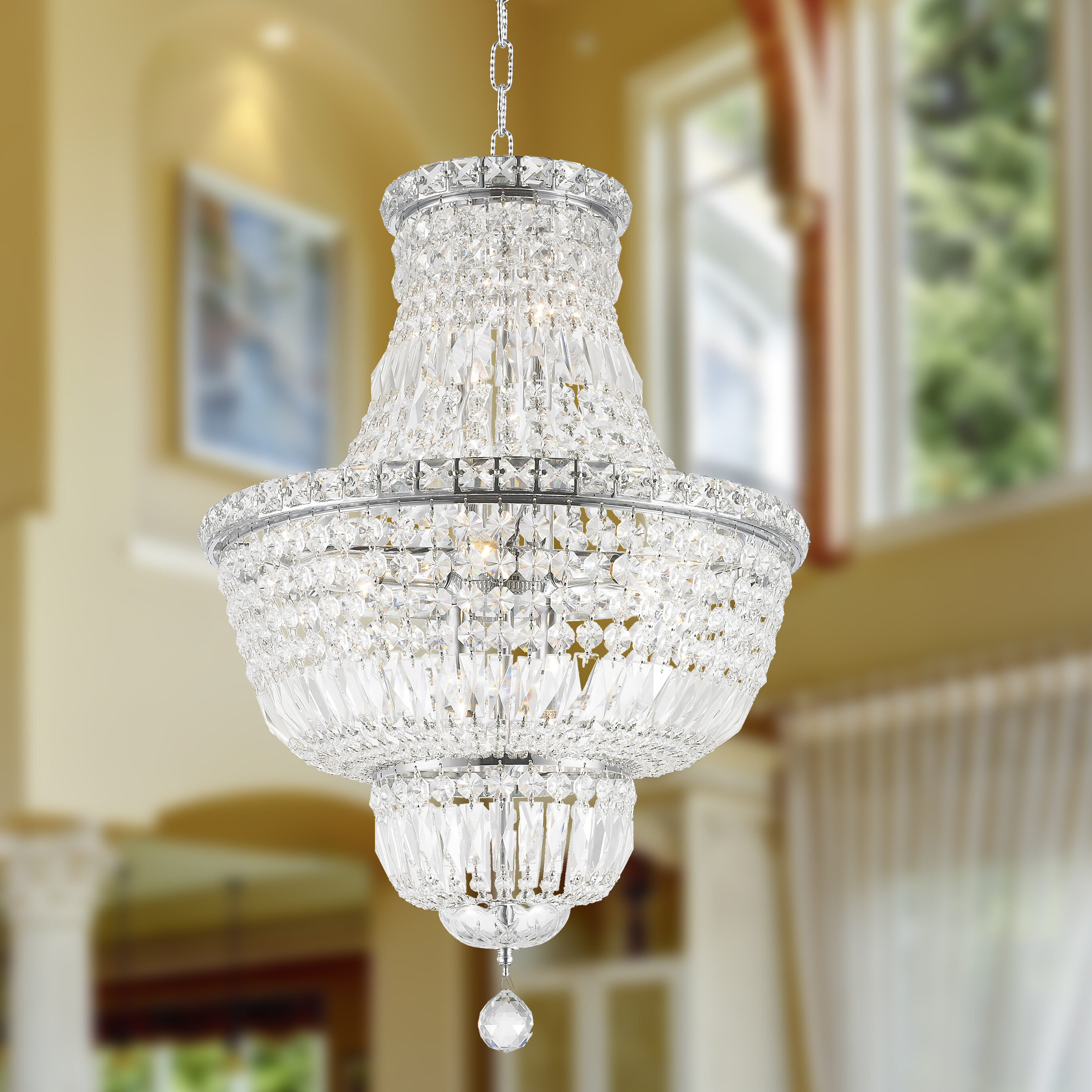 & House of Hampton Carson Glam 12-Light Chandelier u0026 Reviews | Wayfair