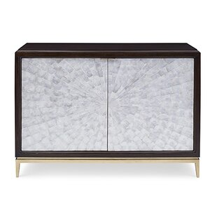 Affordable Price Capiz 2 Door Accent Cabinet ByAmbella Home Collection