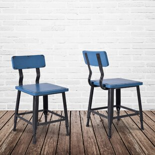 Bozarth Industrial Dining Chair (Set of 2)