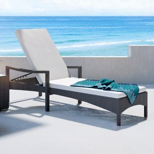 UrbanMod Outdoor Chaise Lounge with Cushion