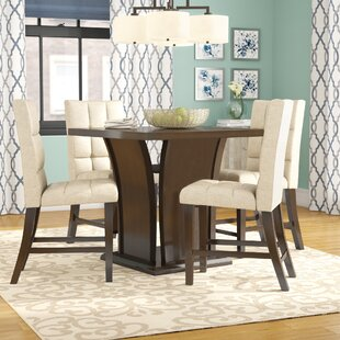 Burgess 5 Piece Counter Height Dining Set By Red Barrel Studio