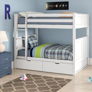 Isabelle Full over Full Bunk Bed with Storage