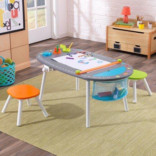 KidKraft Kids 3 Piece Oval Table and Chair Set & Reviews | Wayfair