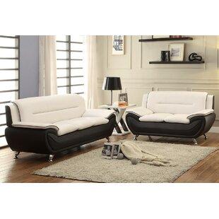 Jasmin 2 Piece Living Room Set by Orren Ellis