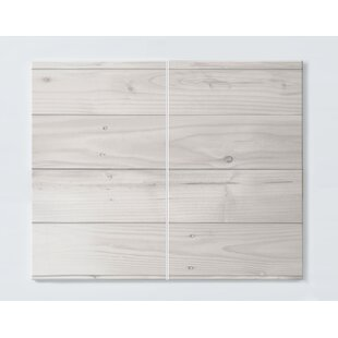 Wood Magnetic Magnetic Wall Mounted Cork Board By Ebern Designs