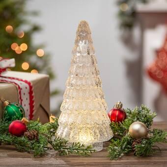 The Holiday Aisle Hand Blown Tabletop Tree Wayfair