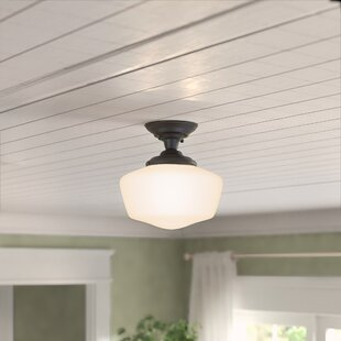 Sudbury 1-Light Semi-Flush Mount by Birch Lane? Heritage
