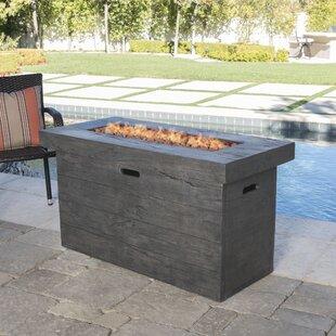 Ralph Concrete Propane Fire Pit Table by Freeport Park