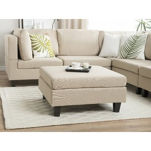 Whitted Ottoman by Ebern Designs