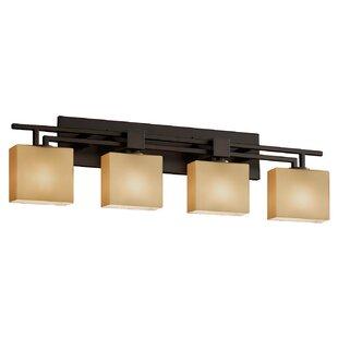 Compare prices Luzerne 4-Light Vanity Light By Brayden Studio