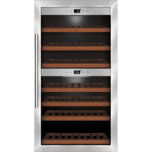 66 Bottle Dual-Zone Freestanding Wine Cooler