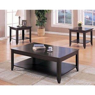 Jenner 3 Piece Coffee Table Set by Winston Porter