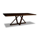 Nuss Solid Wood Dining Table by Union Rustic