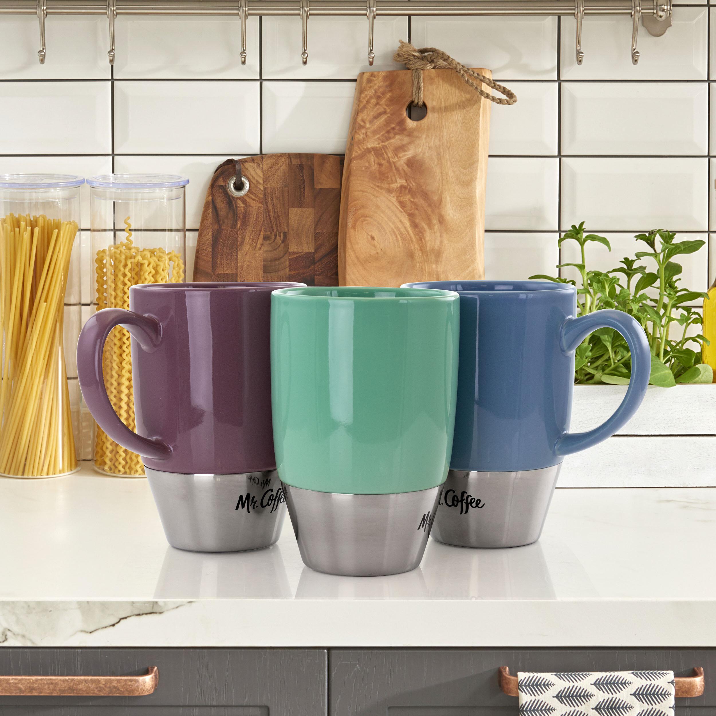 Mr Coffee 15 Oz Insulated Travel Mug Wayfair