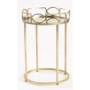 Lattice Edge End Table by InnerSpace Luxury Products