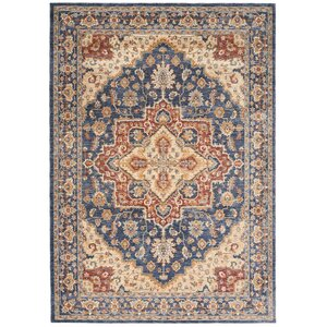 Westbrook Oriental Blue Area Rug