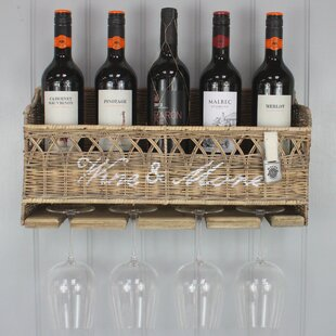 Sales Kubu 5 Bottle Wall Mounted Wine Cabinet
