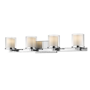 Winston Porter Whiteway 4-Light LED Vanity Light