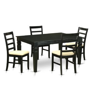 Weston 5 Piece Dining Set Wooden Importers