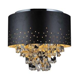 CWI Lighting Carmella 5-Light Flush Mount
