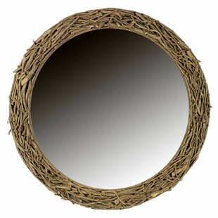Loon Peak Cuevas Wooden Twig Accent Mirror