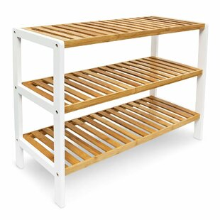 Bamboo 3 Tier 12 Pair Shoe Rack By Brambly Cottage
