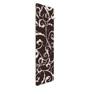 White Tendrils Wall Mounted Coat Rack By Symple Stuff